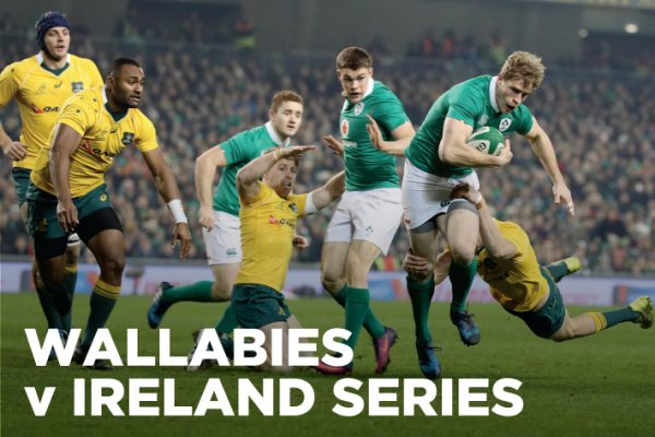 Wallabies v Ireland Test Series