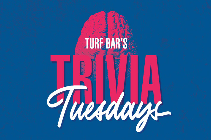 Turf bar trivia Tuesdays